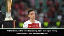 Gilberto Silva feels Arsenal fans' pain after Europa League final