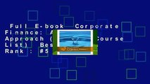 Full E-book  Corporate Finance: A Focused Approach (Mindtap Course List)  Best Sellers Rank : #5