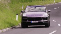 Porsche Cayenne S Coupé in quarzite grey Driving Video