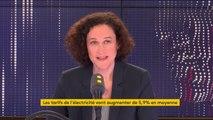 """Hausse du prix de l'électricité : """"Xavier Bertrand est complètement irresponsable (...) non, l'Etat ne s'en fout pas plein les poches"""", affirme la secrétaire d'Etat auprès du ministre de la Transition écologique et solidaire"""