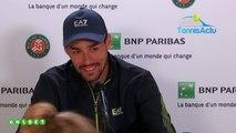 Roland-Garros 2019 - Fabio Fognini nous parle de ses chaussures peintes et du cas Nick Kyrgios !