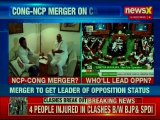 Rahul Gandhi meets NCP chief Sharad Pawar; merger to get leader of opposition status