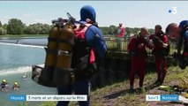 Bas-Rhin : le chavirement d'un canot fait trois morts, une fillette portée disparue