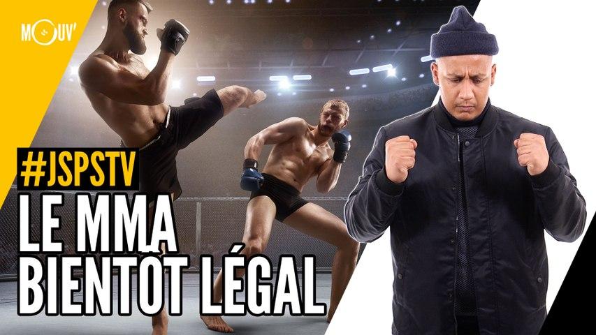 Je sais pas si t'as vu... Le MMA bientôt légal