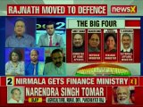 Nirmala Sitharaman gets finance ministry, Rajnath Singh moved to defence ministry in new Modi Cabinet
