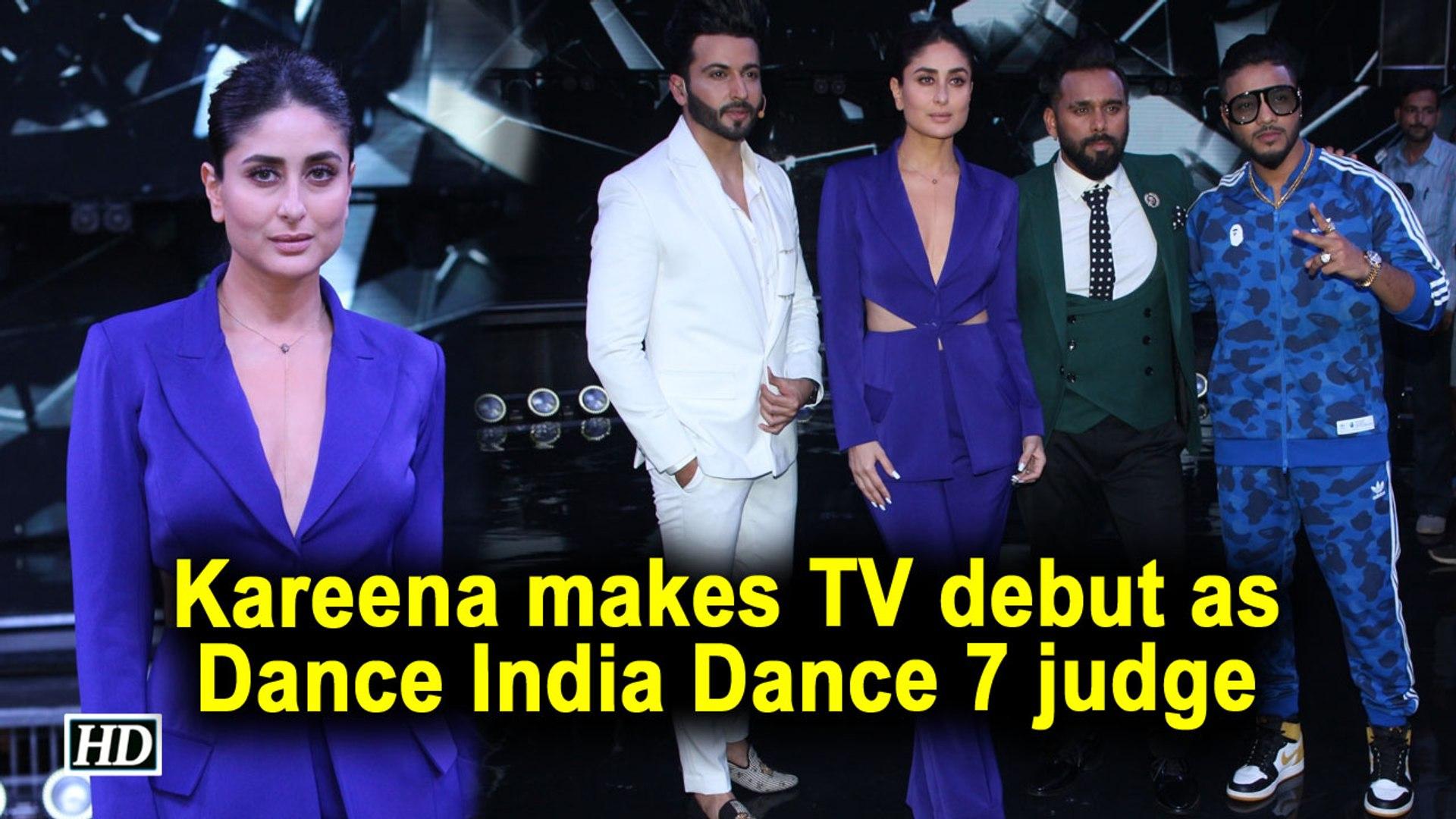 Kareena Kapoor Khan makes TV debut as judge of Dance India Dance 7