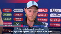 Catch of the century is a bit too far - Ben Stokes