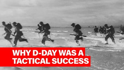 This Week in History: The Allied Forces' Tactical Gamble Pays off on D-Day