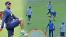 ICC Worrld Cup 2019: Virat Kohli & Team Take Part In Unique Fielding Drill Ahead Of World Cup