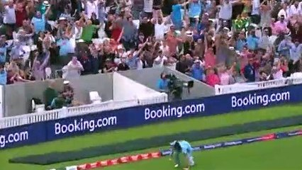 Cricket - World Cup 2019 - Ben Stokes Takes A SUPER-HUMAN Catch