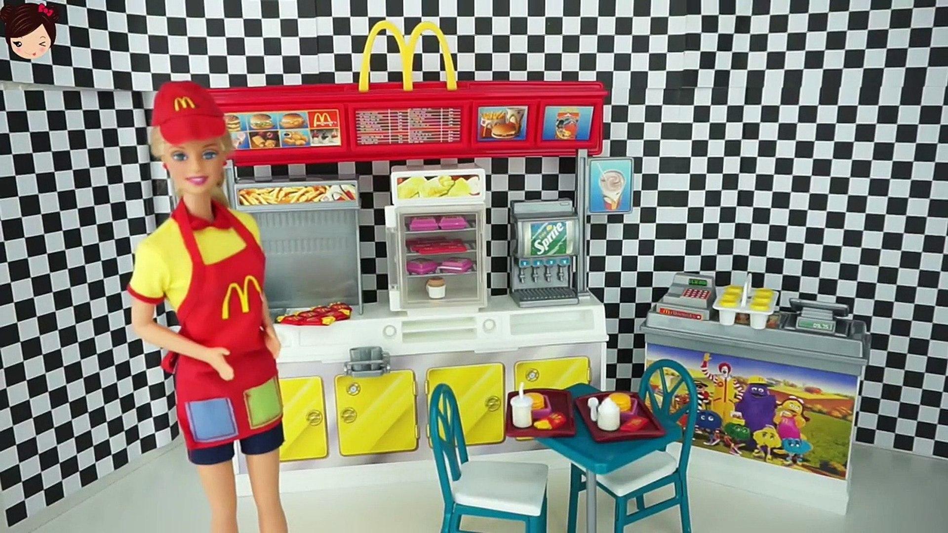 Barbie Restaurante Donalds Muñecas Mc De Titi Los Para Juguetes CroexdB