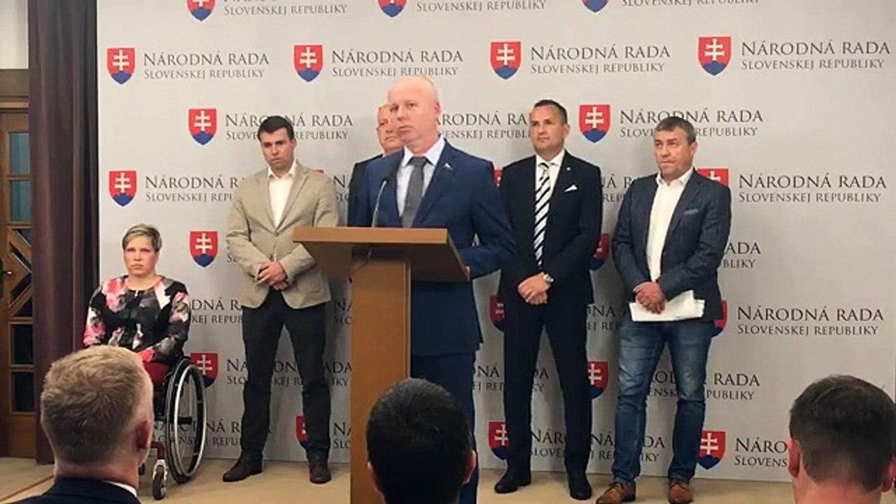 ZÁZNAM: TK poslancov NR SR Dušana Tittela a Tibora Jančulu