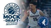 2019 NBA Mock Draft - Timberwolves select Brandon Clarke with No. 11 Pick