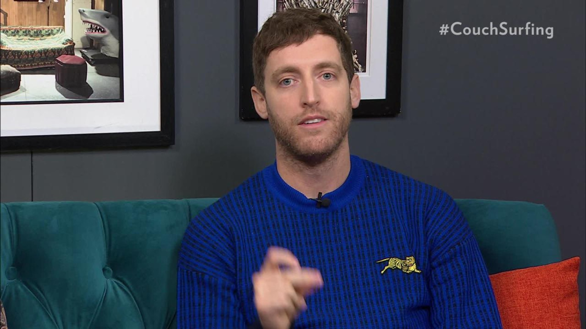"Thomas Middleditch on His New Film 'Godzilla: King of the Monsters: It's a ""Big Crazy Movie About Mo"