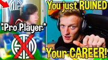 Tfue EXPOSES TSM Member for STREAM SNIPING in PRO SCRIMS | Fortnite Moments