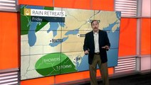 More storms this weekend for Midwest and East