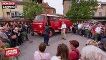 Affaire conclue : Sophie Davant se fait porter par un ex-pompier (vidéo)