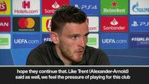 (Subtitled) 'I feel the pressure' -admits Robertson