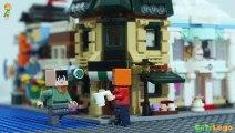 Cu Ti construir uma cidade lego #1 : montar cafeteria