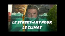 Greta Thunberg mise à l'honneur dans une impressionnante peinture murale à Bristol