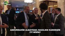 """Abdurrahim Albayrak'tan Hamit Altıntop'a: """"Bizim futbolcularda senden çok göbek var"""""""