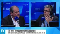 """L'ancien patron du PS Jean-Christophe Cambadélis appelle à """"refonder une gauche réaliste et de réforme"""""""
