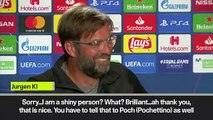 (Subtitled) 'Shiny' Klopp confused by question