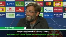 I don't see myself as a loser - Klopp