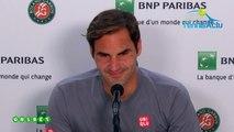 "Roland-Garros 2019 - Roger Federer a disputé son 400e match en Grand Chelem : ""Je ne savais pas"""