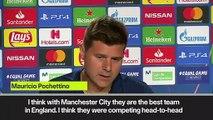 (Subtitled) Pochettino praises Klopp's work at Liverpool and Man City