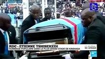 RDC : l'hommage populaire à Etienne Tshisekedi