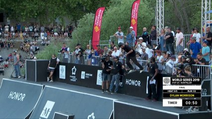 Dylan Morrison | 2nd place - Occitanie Scooter Freestyle Park Pro Final | FISE Montpellier 2019