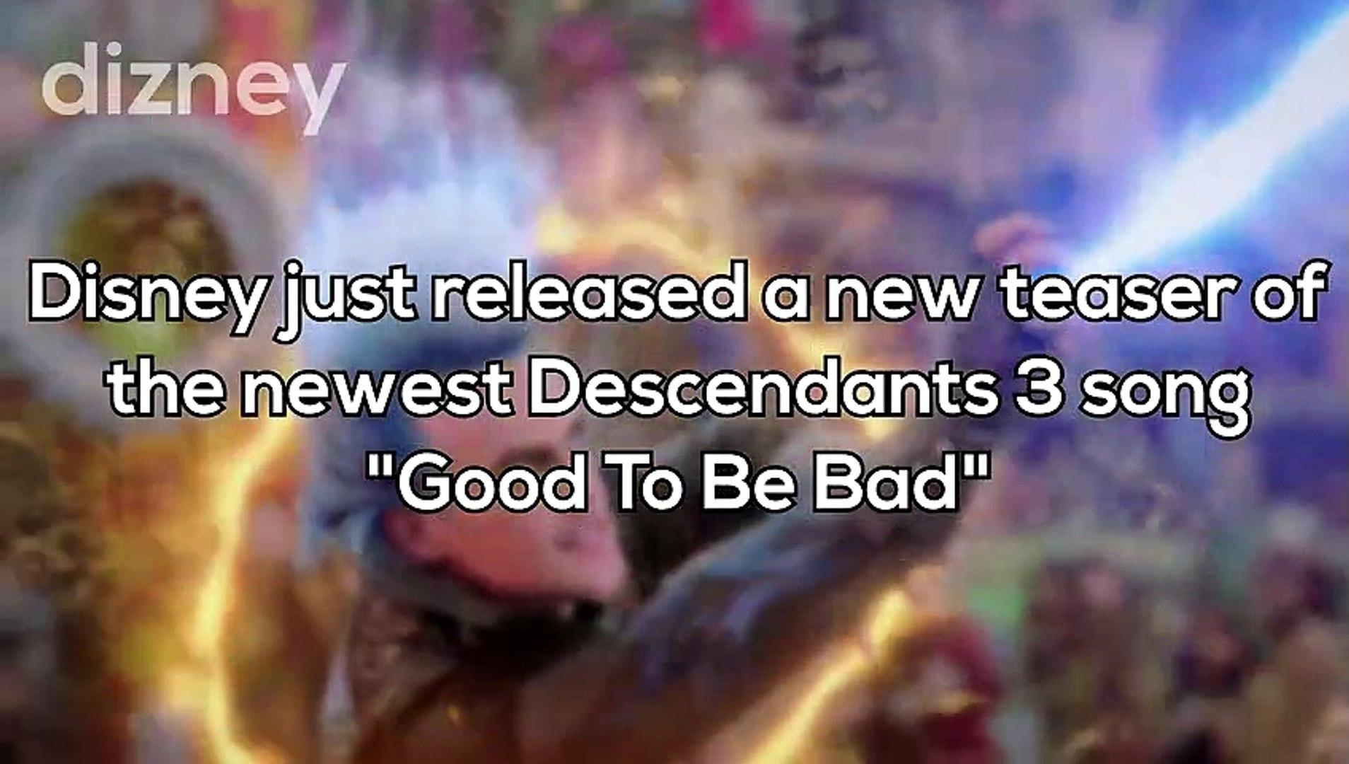 Descendants good to be bad