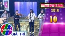 THVL | Ban nhạc quyền năng Mùa 3 - Tập 10[9]: Trò chơi thử thách - Nguyễn Hoàng Nam, Đào Ngọc Sang, Tuấn Nghĩa, Bảo Anh Gemini