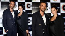 Arjun Rampal attends The Final Call Success party with pregnant GF Gabriella; Watch video |FilmiBeat