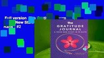 Full version  The Gratitude Journal: A Fresh New Start in 90 Days  Best Sellers Rank : #2