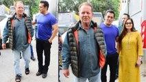 Salman Khan's father Salim Khan promotes Bharat; Check Out   FilmiBeat