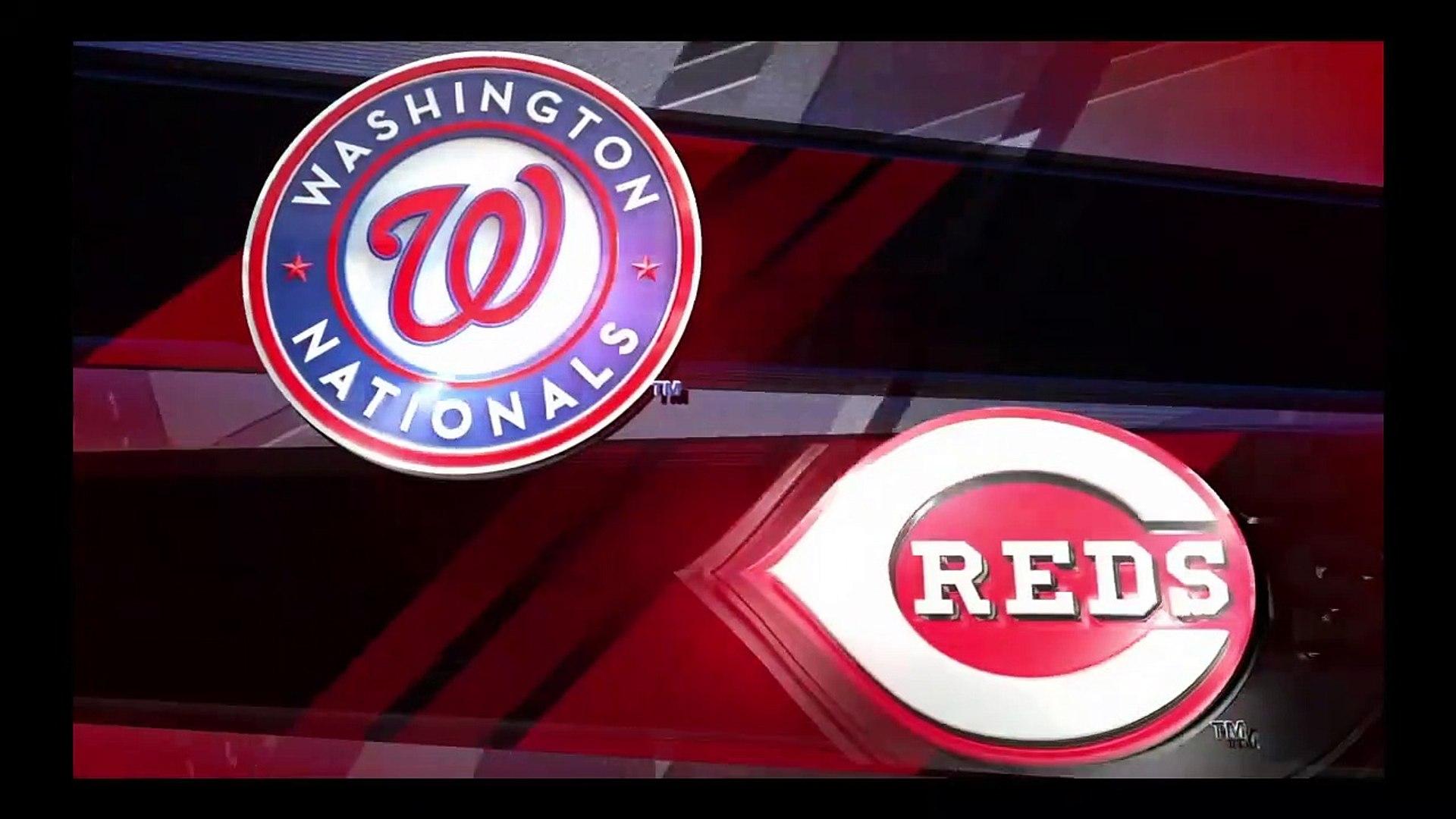 MLB Baseball - Washington Nationals @ Cincinnati Reds - MLB The Show 19 Simulation Full Game 2/6/19