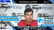 Washington Nationals vs Cincinnati Reds 6/1/2019 Picks Predictions