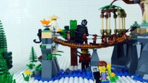 LEGO Ninjago mvie STOP MOTION W/ Lloyd Garmadon & Nya vs The Robber! | Ninjago | By Lego Worlds