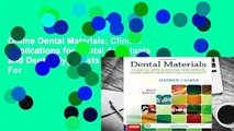 Online Dental Materials  Clinical Applications for Dental Assistants and Dental Hygienists  For