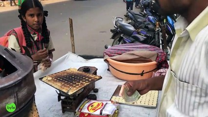 Have You Ever Seen this Bisucit Making - Street Food | Rajasthani Biscuits in Hyderabad streets