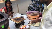 Have You Ever Seen this Bisucit Making - Street Food   Rajasthani Biscuits in Hyderabad streets