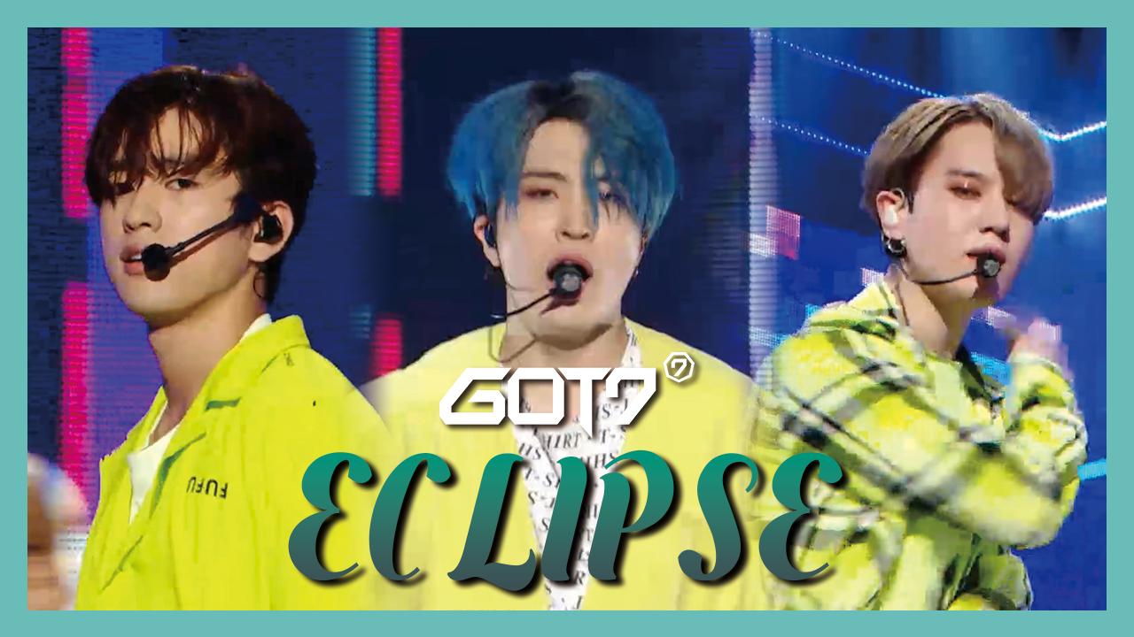 [HOT] GOT7 – ECLIPSE ,  갓세븐 – ECLIPSE show Music core 20190601