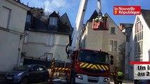 VIDEO. Tours  : un incendie touche deux immeubles anciens