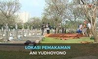 Ini Lokasi Pemakaman Ani Yudhoyono di TMP Kalibata
