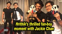 Hrithik's thrilled fan-boy moment with Jackie Chan