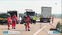 Ardennes : trois personnes tuées dans un accident sur l'A34, dont un bébé de 18 mois