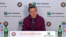 """Roland-Garros - Halep : """" J'étais très nerveuse"""""""