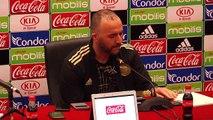 Algeria coach Djamel Belmadi discusses Africa Cup of Nations squad
